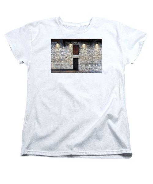 Red Door Women's T-Shirt (Standard Cut) by David Blank