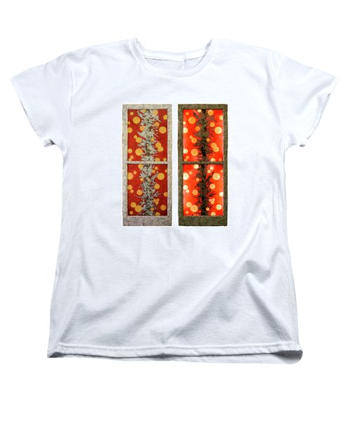 Red Light, White Line Women's T-Shirt (Standard Cut)