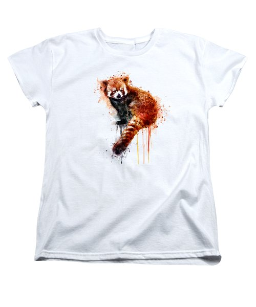 Red Panda Women's T-Shirt (Standard Fit)
