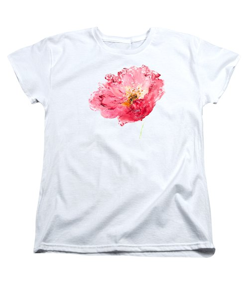 Red Poppy Painting Women's T-Shirt (Standard Cut) by Jan Matson