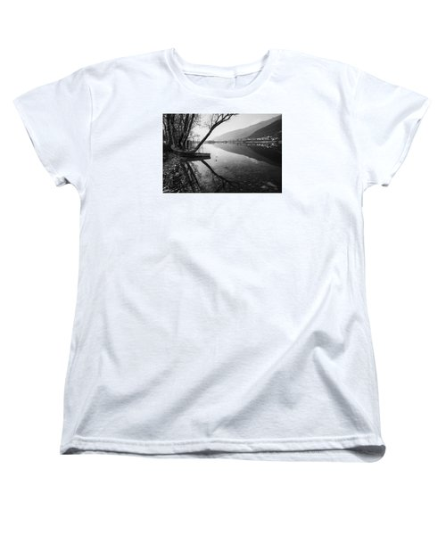 Women's T-Shirt (Standard Cut) featuring the photograph Reflecting by Yuri Santin