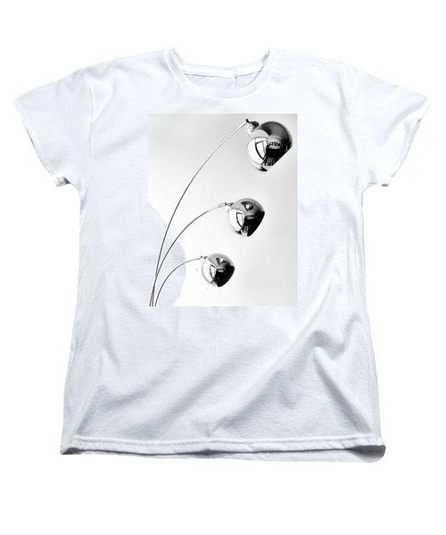 Reflection And Refraction 2 Women's T-Shirt (Standard Cut) by Alex Galkin