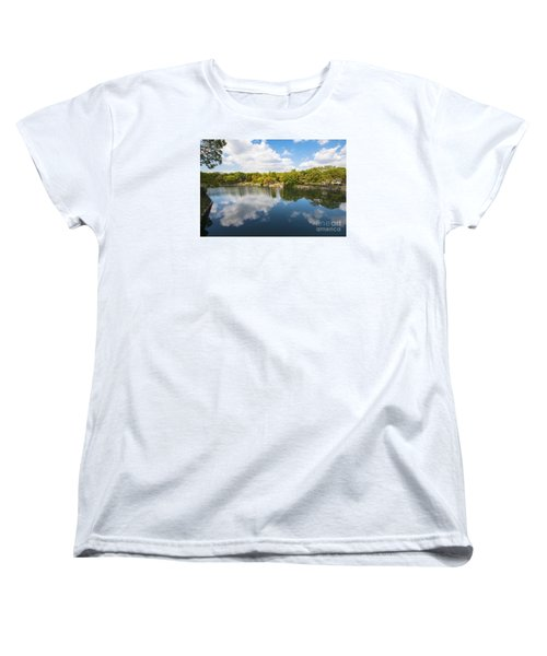 Women's T-Shirt (Standard Cut) featuring the photograph Reflections by Pravine Chester