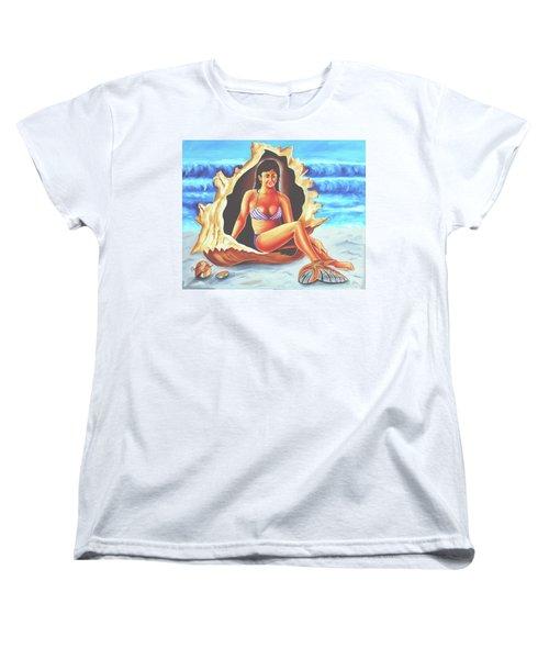 Relax Women's T-Shirt (Standard Cut) by Ragunath Venkatraman