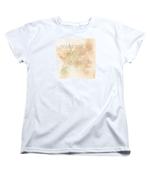 Relaxing Women's T-Shirt (Standard Cut) by Kandy Hurley