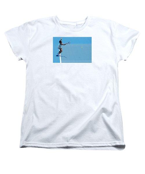 Return - Serena Williams Women's T-Shirt (Standard Cut) by Andrei SKY