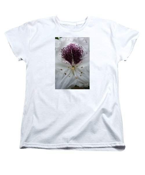 Rhododendron 2 Women's T-Shirt (Standard Cut) by Jean Bernard Roussilhe