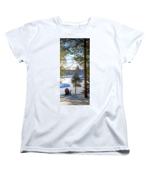 River View Women's T-Shirt (Standard Cut) by David Patterson