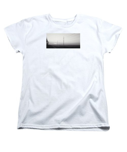Road To Nowhere Women's T-Shirt (Standard Cut) by Sarah Boyd