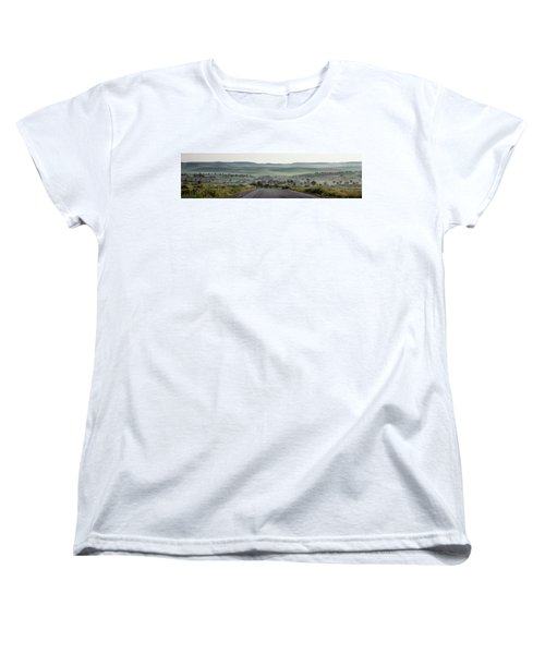 Road To The Forest Women's T-Shirt (Standard Cut) by Yoel Koskas