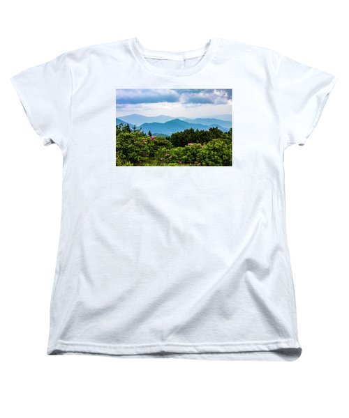 Roan Mountain Rhodos Women's T-Shirt (Standard Cut) by Dale R Carlson