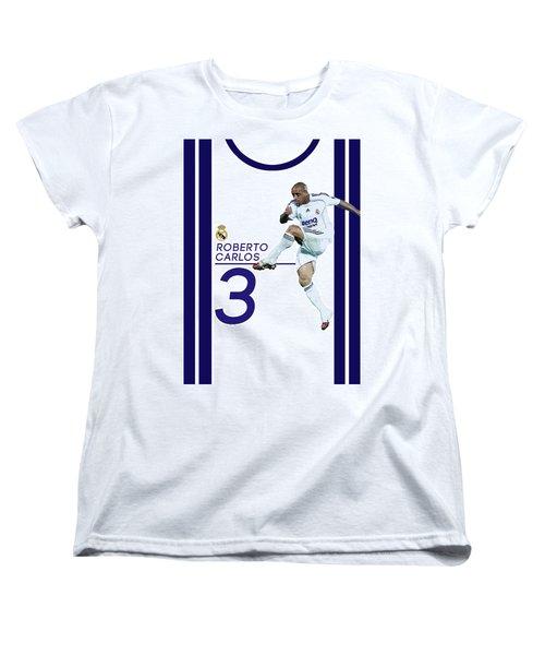 Roberto Carlos Women's T-Shirt (Standard Cut) by Semih Yurdabak