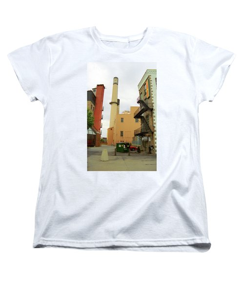 Rochester, Ny - Behind The Bar And Factory 2005 Women's T-Shirt (Standard Cut) by Frank Romeo