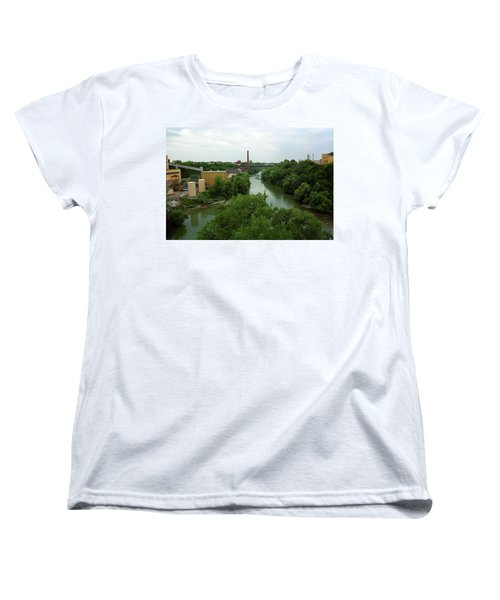 Rochester, Ny - Genesee River 2005 Women's T-Shirt (Standard Cut) by Frank Romeo