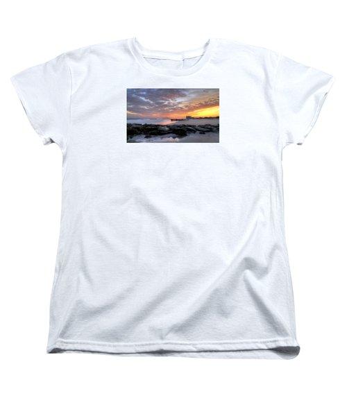Rock On Women's T-Shirt (Standard Cut) by John Loreaux