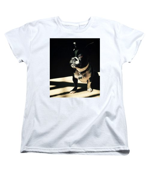 Rocky Women's T-Shirt (Standard Cut) by Sharon Jones