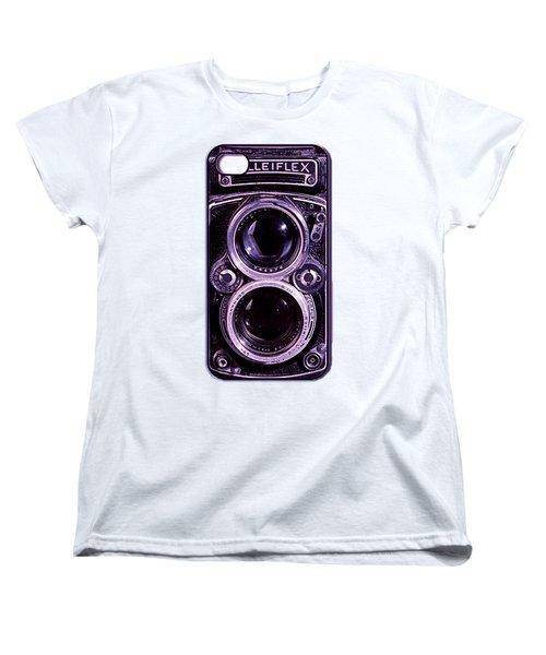 Eye Rolleiflex Euphoria Women's T-Shirt (Standard Cut) by Joseph Mosley