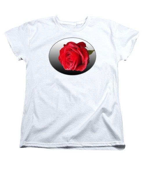 Romantic Rose Women's T-Shirt (Standard Fit)