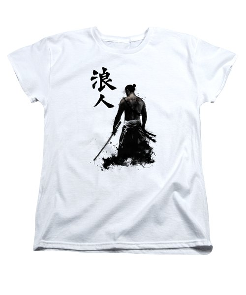 Ronin Women's T-Shirt (Standard Cut) by Nicklas Gustafsson