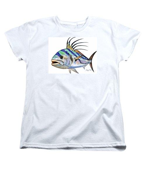 Roosterfish Digital Women's T-Shirt (Standard Cut) by Carey Chen