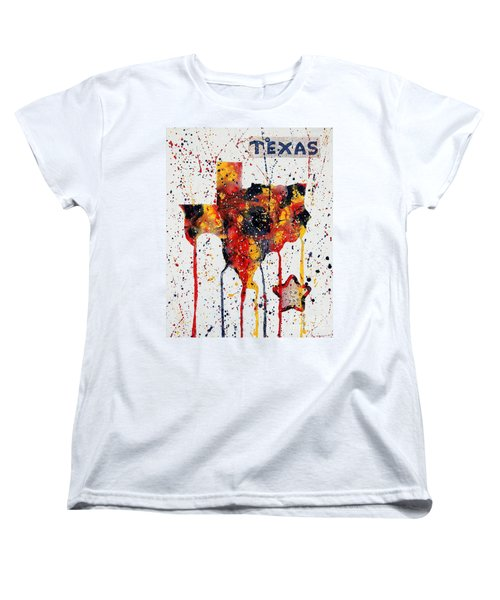 Rooted In Texas Women's T-Shirt (Standard Cut)