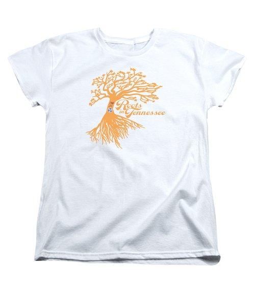 Roots In Tn Orange Women's T-Shirt (Standard Cut) by Heather Applegate