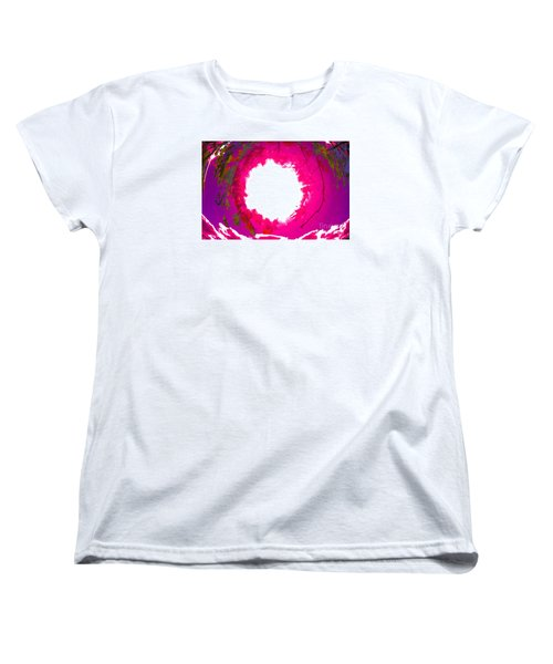 Women's T-Shirt (Standard Cut) featuring the photograph Rosa by Jesse Ciazza