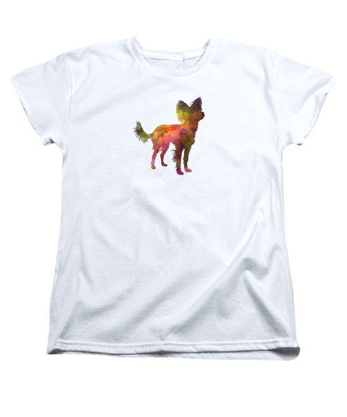 Russian Toy 02 In Watercolor Women's T-Shirt (Standard Cut) by Pablo Romero