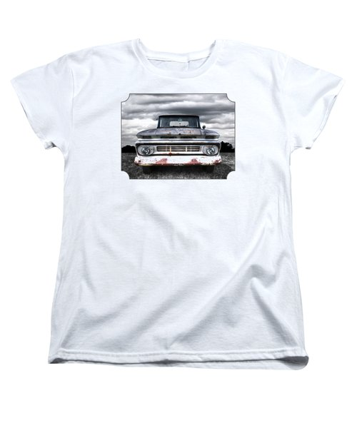 Rust And Proud - 62 Chevy Fleetside Women's T-Shirt (Standard Cut)