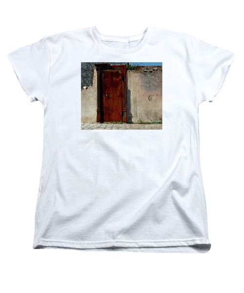 Rustic Ruin Women's T-Shirt (Standard Cut) by Lori Mellen-Pagliaro