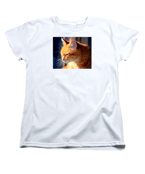Women's T-Shirt (Standard Cut) featuring the photograph Rusty, Blind And Deaf Extraordinaire by Antonia Citrino