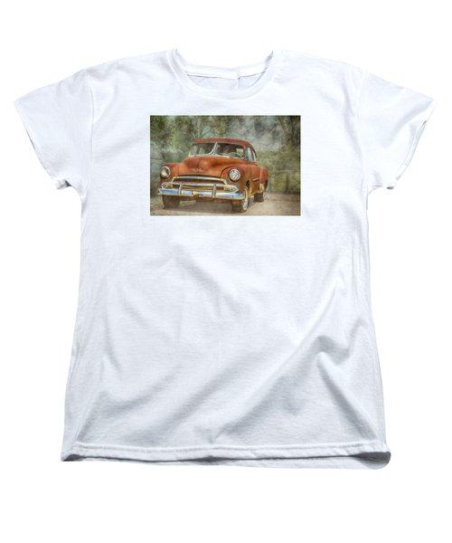 Rusty Women's T-Shirt (Standard Cut) by Pamela Williams