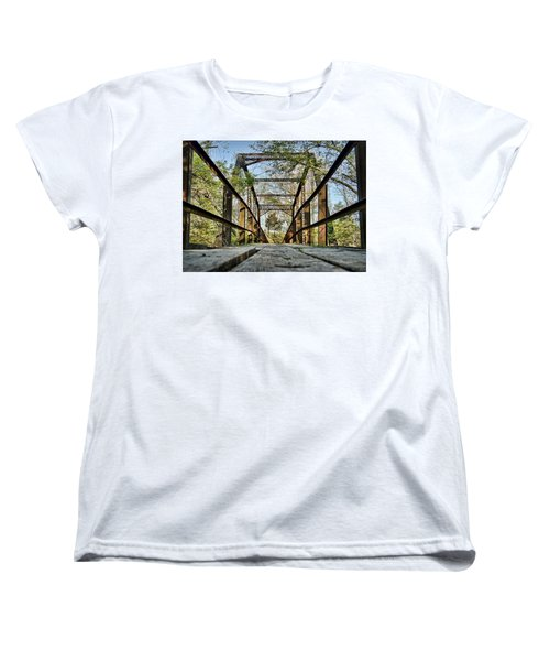 Englewood Bridge Women's T-Shirt (Standard Cut) by Cricket Hackmann