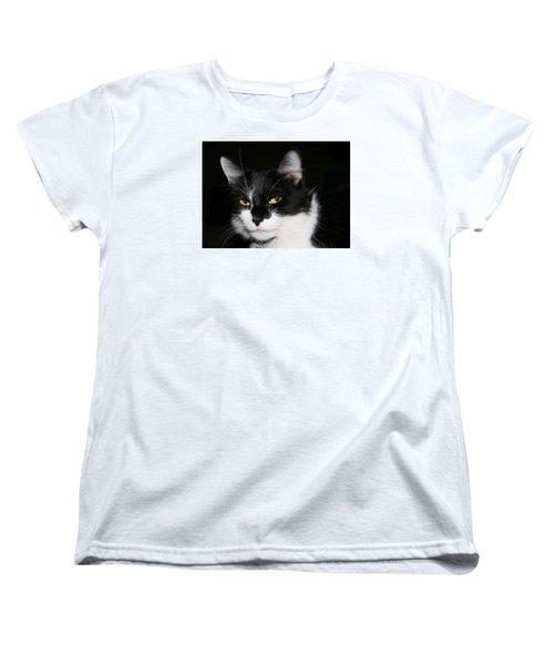 Women's T-Shirt (Standard Cut) featuring the photograph Sabrina by Karen Harrison