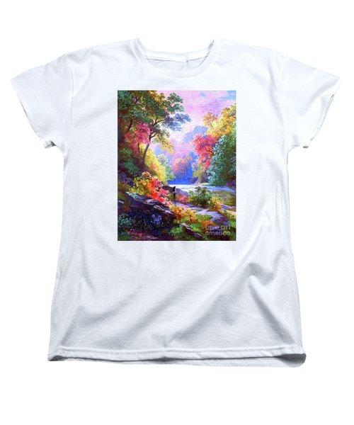 Sacred Landscape Meditation Women's T-Shirt (Standard Fit)
