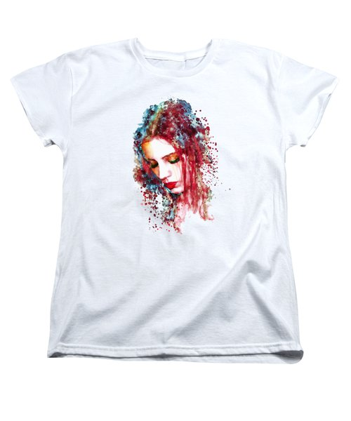 Sad Woman Women's T-Shirt (Standard Fit)