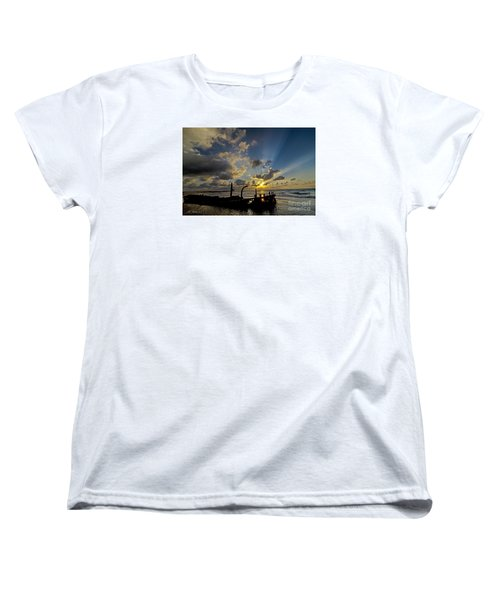 Safe Shore 03 Women's T-Shirt (Standard Cut) by Arik Baltinester