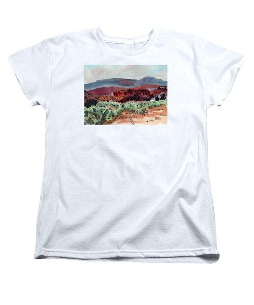 Sage Sand And Sierra Women's T-Shirt (Standard Cut) by Donald Maier