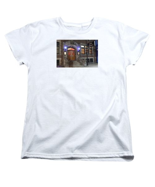 Women's T-Shirt (Standard Cut) featuring the photograph Saint Andrew's Music Hall by Michael Rucker