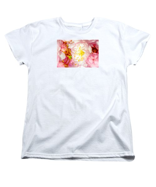 Women's T-Shirt (Standard Cut) featuring the photograph Sakura Cherry Flower - Wedding Of Nature by Alexander Senin
