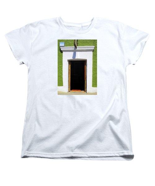 San Jose Del Cabo Door 7 Women's T-Shirt (Standard Cut) by Randall Weidner
