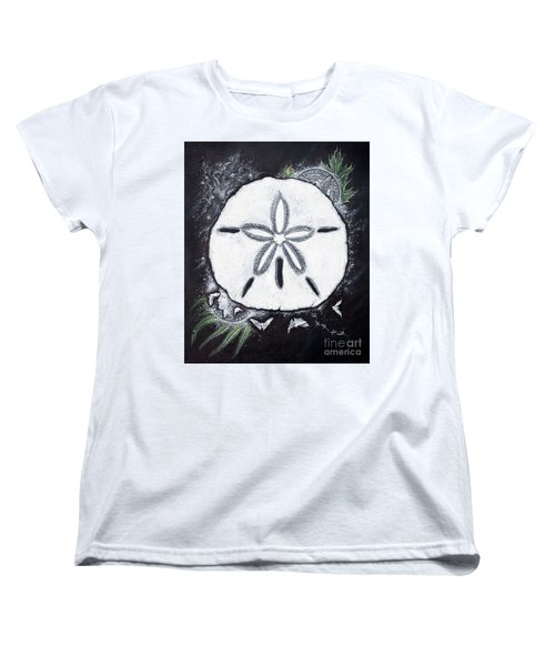 Sand Dollars Women's T-Shirt (Standard Cut) by Scott and Dixie Wiley