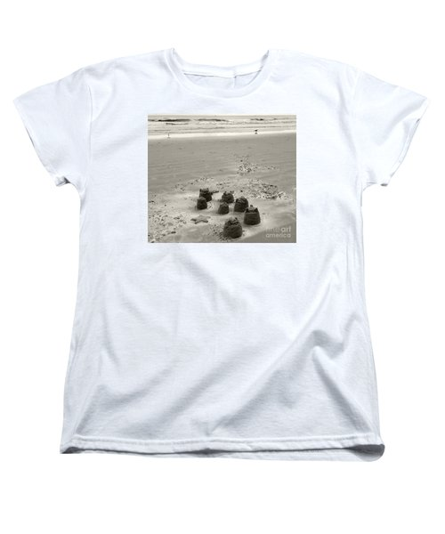 Sand Fun Women's T-Shirt (Standard Cut) by Raymond Earley