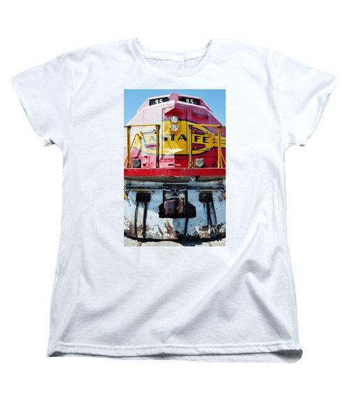 Sante Fe Railway Women's T-Shirt (Standard Cut) by Kyle Hanson