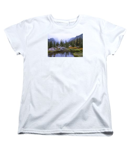 Saturated Forest Women's T-Shirt (Standard Cut) by Chad Dutson