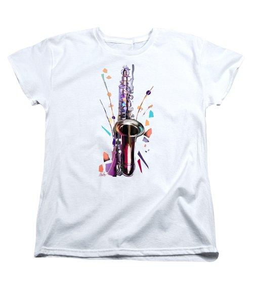Saxophone Women's T-Shirt (Standard Cut)