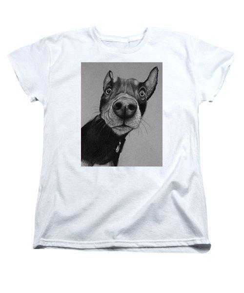 Say What?  Women's T-Shirt (Standard Cut) by Jean Cormier