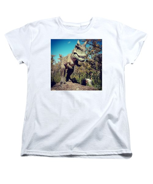 Scary Carnotaurus Women's T-Shirt (Standard Cut)