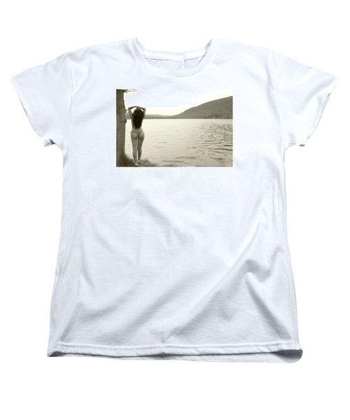 Scenery Women's T-Shirt (Standard Cut) by David Stasiak