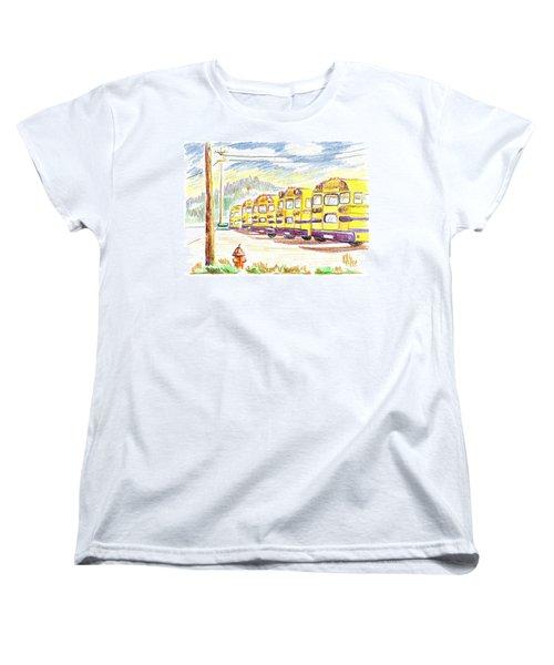 School Bussiness Women's T-Shirt (Standard Cut) by Kip DeVore